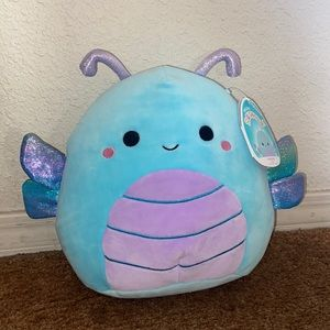 "NWT 8"" Heather Dragon Fly Squishmallow"